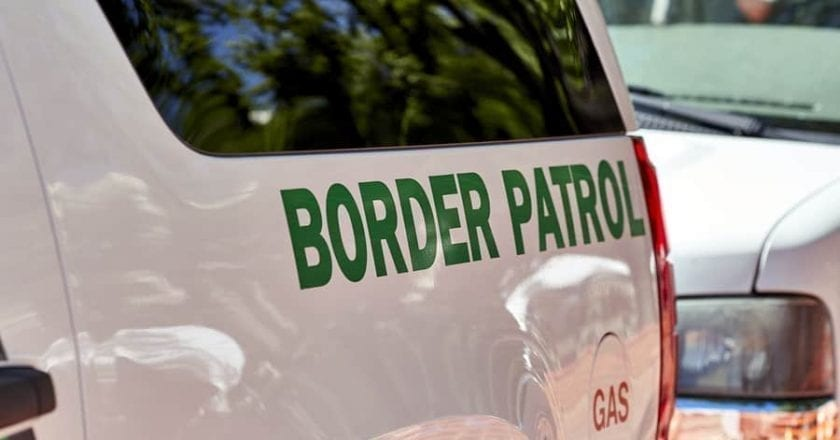 Yuma Arizona Sector Border Patrol Agents Thwart Human Smuggling Attempt