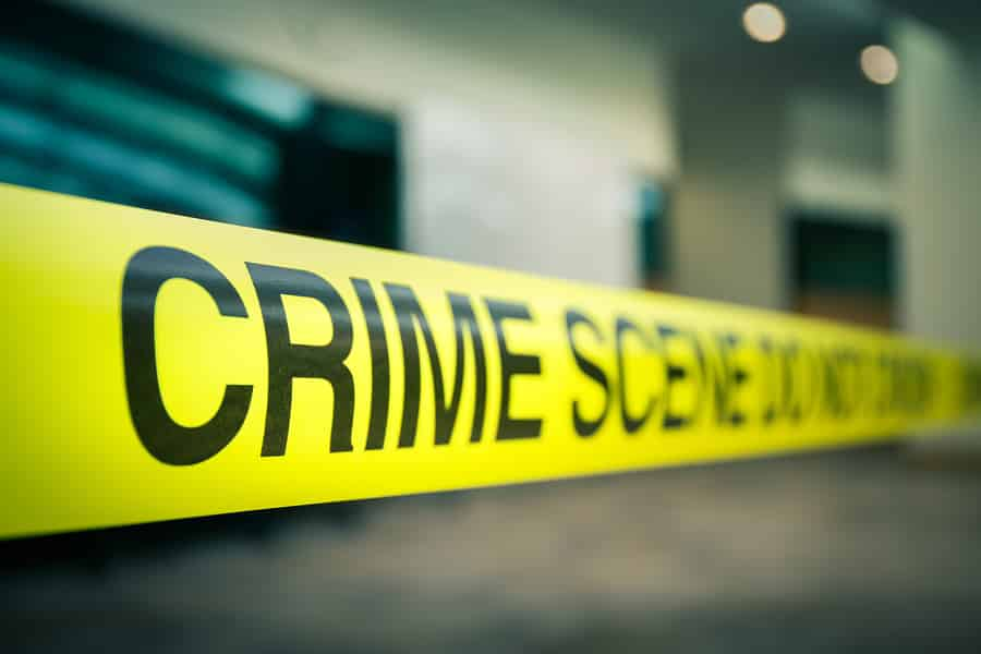 Death Investigation by Boston Police At 14 Circuit Street in Roxbury
