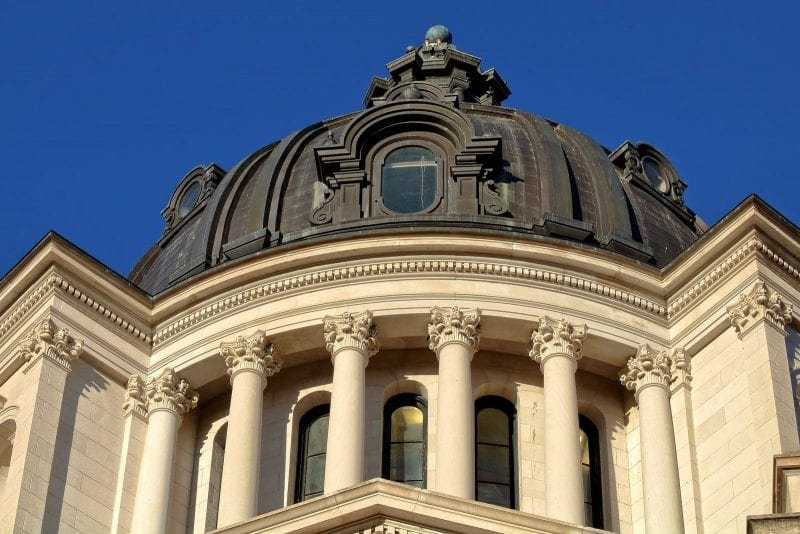 South Dakota - 40th State Admitted to the Union on November 2, 1889