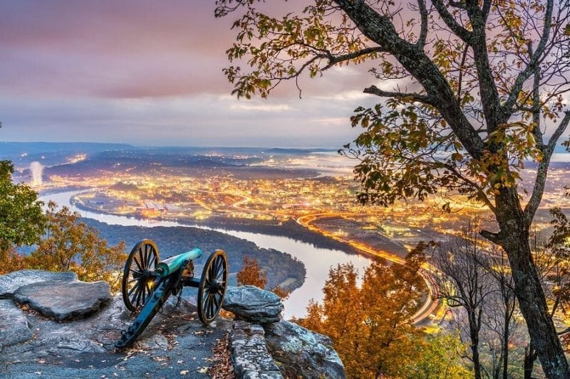 Tennessee - 16th State Admitted to the Union on June 1, 1796