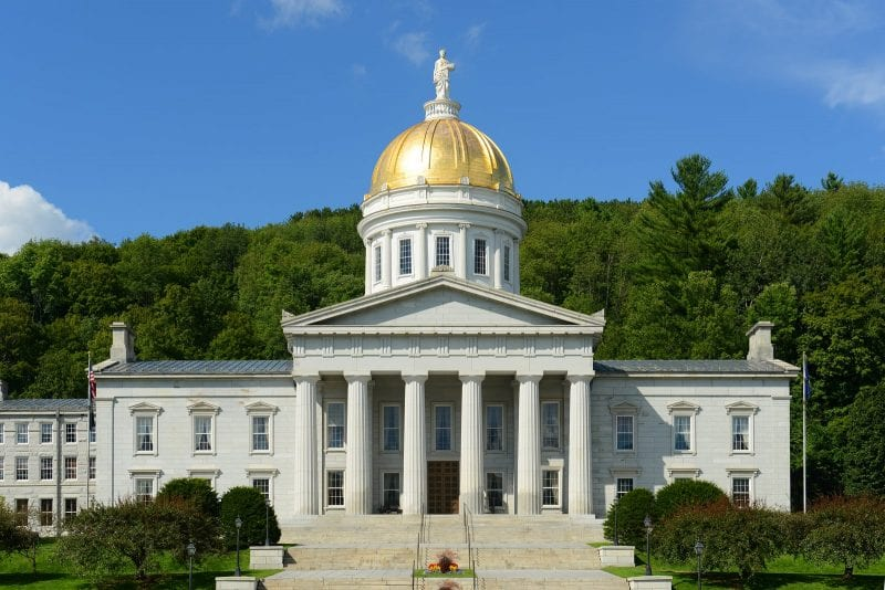 Vermont - 14th State Admitted to the Union on March 4 1791