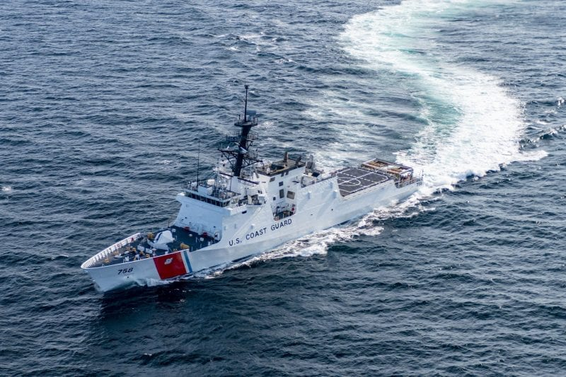 Ingalls Shipbuilding Successfully Completes Acceptance Trials for Stone (WMSL 758)
