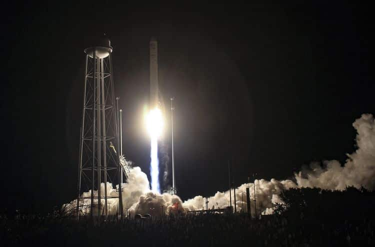 Northrop Grumman Successfully Launches 14th Cargo Delivery Mission to the International Space Station