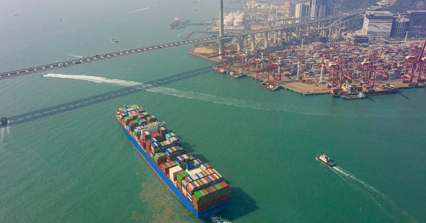 China exports surge by forecast beating 21% in November