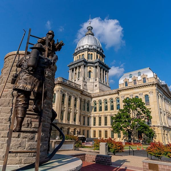 Illinois Governor Activates National Guard to Secure State Buildings