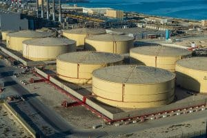 Saudi Arabia cuts oil production causing oil prices to fall